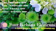Four Ikebana Elements