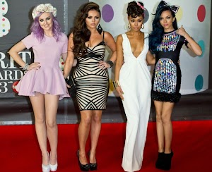 Little Mix don't like it when the paparazzi try to take photos up their skirts