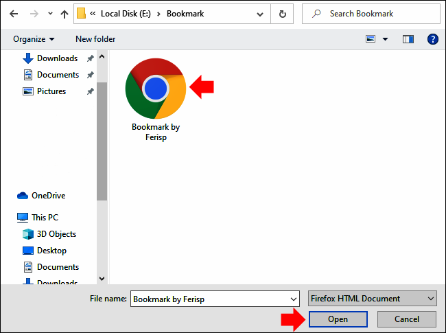 Cara Impor Bookmark di Google Chrome