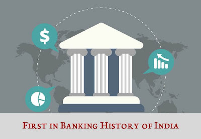 First in Banking History of India