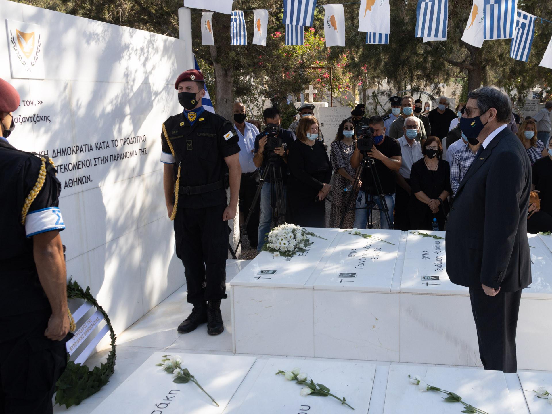 Αναστασιάδης: Επαγρυπνούμε και θα αντιδράσουμε για την Αμμόχωστο