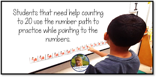Turkey Number Path Teach Magically