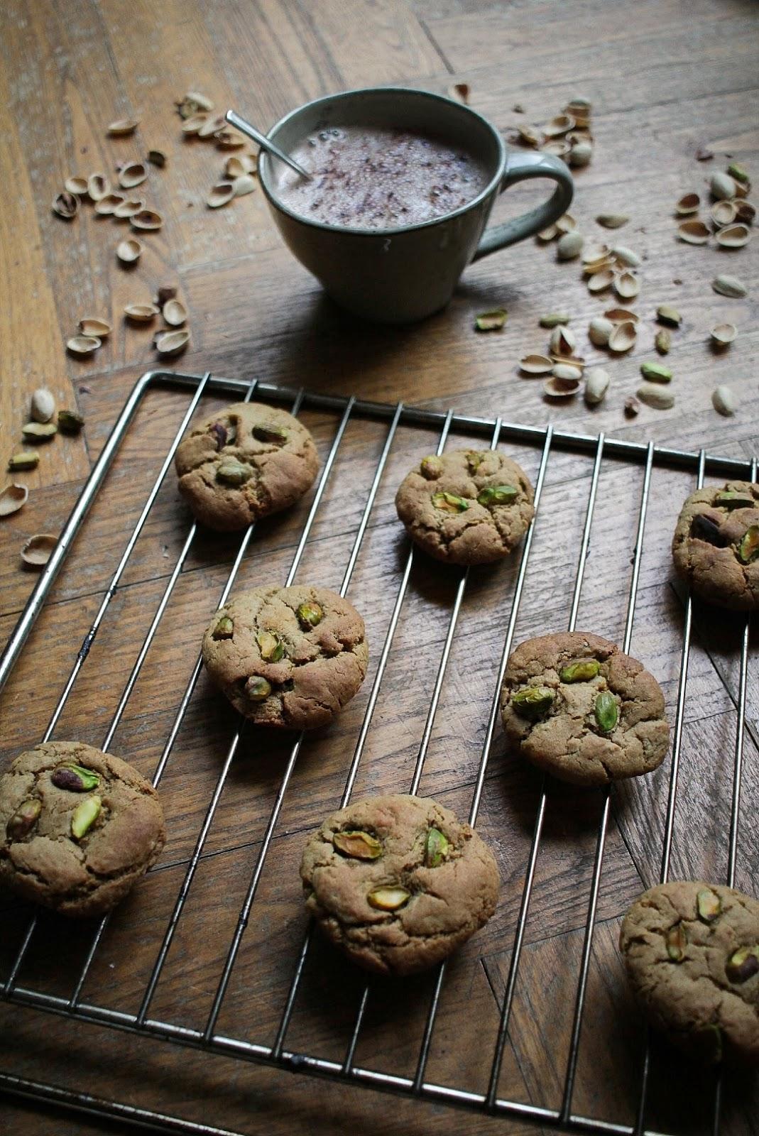 Cookies vegan à la pistache