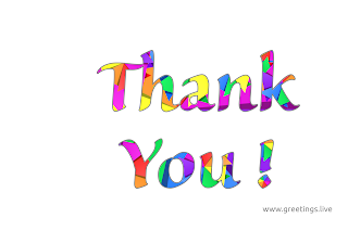 Beautiful Thank you unique greetings images png