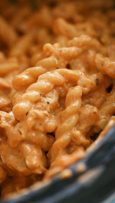 Crock Pot Italian Chicken Pasta