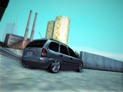 GTA SA - Chevrolet Corsa Wagon 2001 Baixo de 18 do Astra GSI 5
