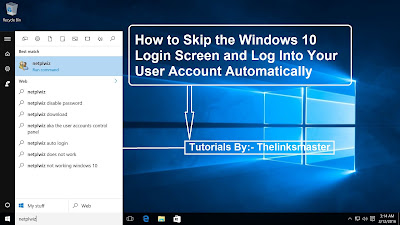 How to Skip the Windows 10 Login Screen and Log Into Your User Account Automatically