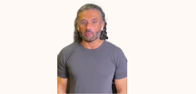 Sunil Shetty beard style