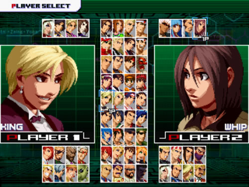 MUGEN PLAYER: THE KING OF FIGHTERS ZILLION SPECIAL