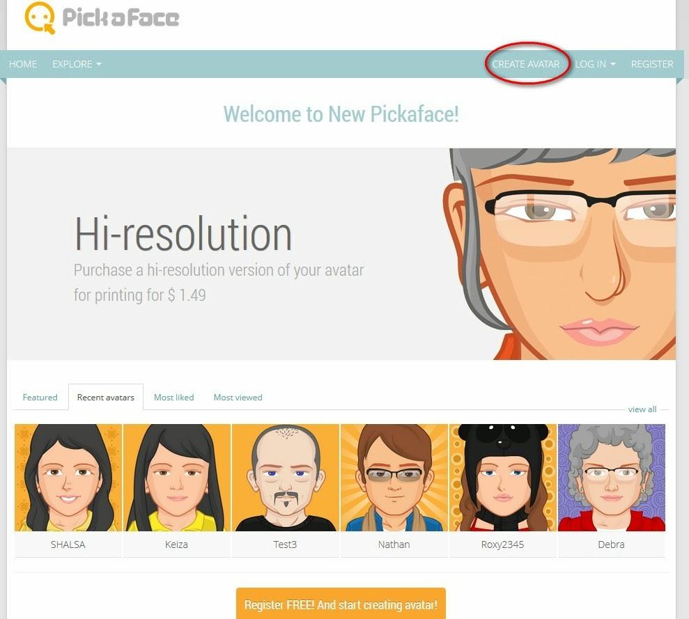 Сайты создания аватарок создание сайт лендинг форум