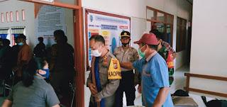 Tekad dan Komitmen Wujudkan Pilkada Damai, Kapolres Tana Toraja Temui Stakeholder Kecamatan Simbuang