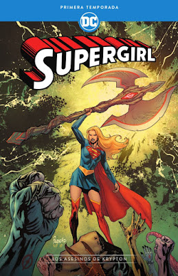 Comic: Review de Supergirl: Primer temporada - Asesinos de Krypton de Mark Andreyko - ECC Ediciones