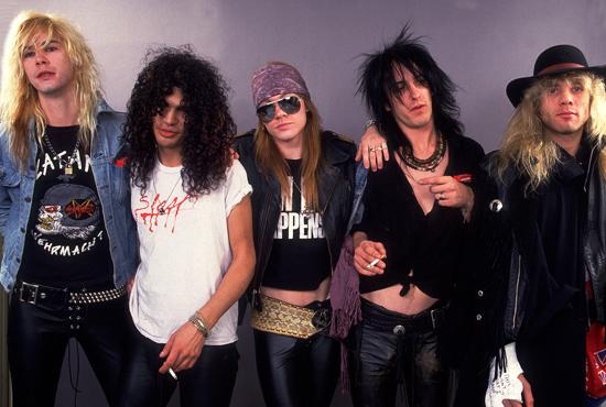 Guns N Roses, canciones y videoclips poco conocidos, editados en material raro