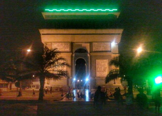 Wisata Simpang Lima Gumul kota Kediri