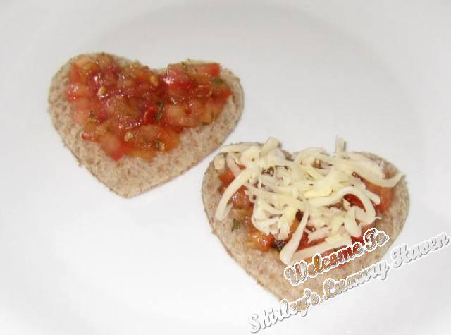 how to make valentines day heart shaped bread