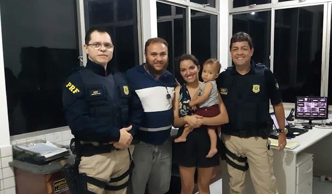 PRF manifesta elogio a dois jacobinenses que salvaram criança em Capim Grosso