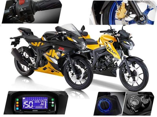 Fitur dan Warna Baru Suzuki GSXR150 dan GSXS150