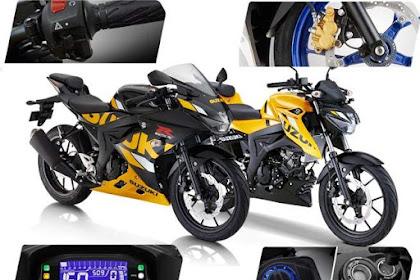 Apa Saja Sih Fitur dan Warna Baru Suzuki GSXR150 dan GSXS150?