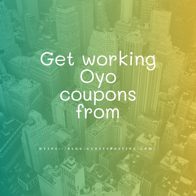 Get working Oyo coupons from