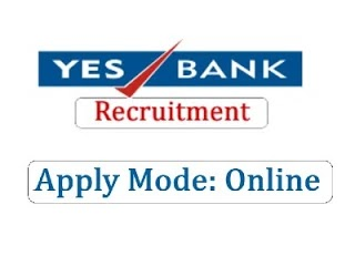 Yes Bank Recruitment 2020 Apply for the latest job opening at yesbank.in