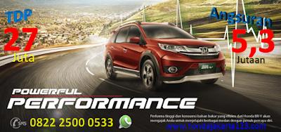 Promo Honda BR-V Jakarta TDP Minim