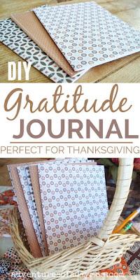 diy gratitude journals
