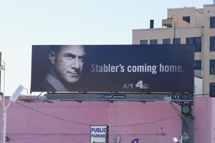 Law & Order Organized Crime billboard