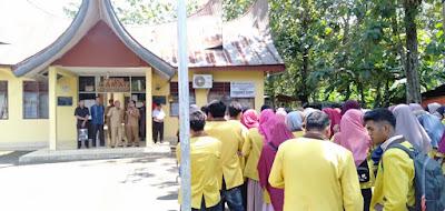 Camat Padang Sago Resmi Melepas Mahasiswa IAIN Bukitinggi, Setelah KKN Selama 45 Hari