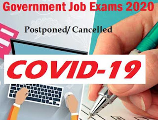 Sarkari Job Exams 2020 Postponed due to COVID-19: HPPSC Subordinate Allied Mains Exam 2020, UPPSC, UPSC & SSC All Latest Updates