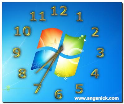 TheAeroClock 3.99 - Пример вида Воздушных часов