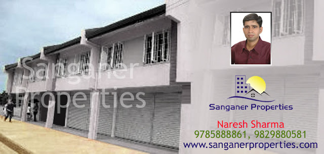 Shops For Sale Airport Road in Sanganer