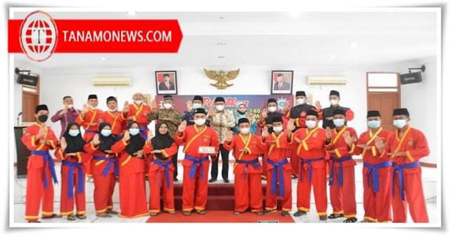 Bupati Eka Putra Hadiri Pelantikan PIMDA Perguruan Bela Diri Tapak Suci Putra Muhammadiyah