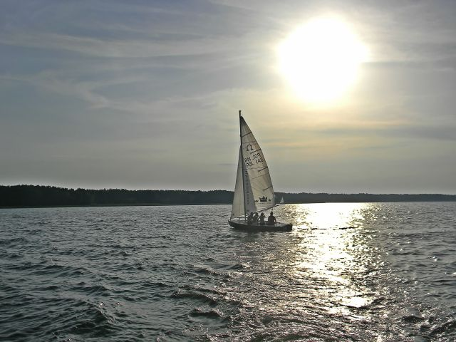 Sława i okolice, sporty wodne, żeglowanie