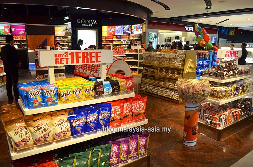 Duty Free Chocolates KLIA2 Malaysia