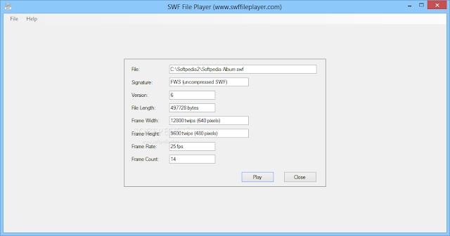 تحميل برنامج تشغيل سويتش ماكس الفلاش على الكمبيوتر SWF File Player