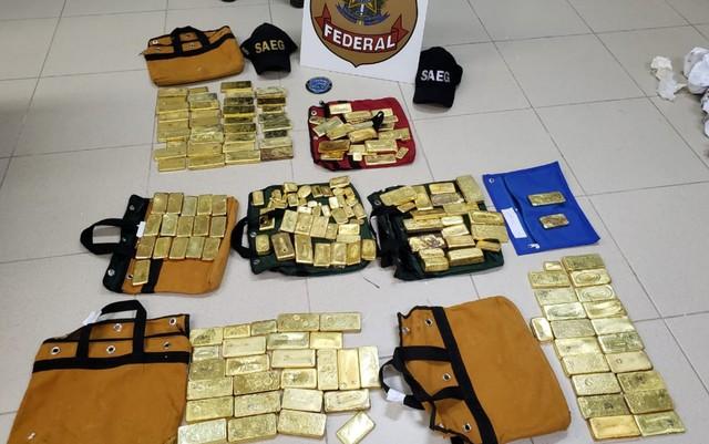 Maranhense é preso transportando 111 KG de ouro, avaliado em R$ 18 Milhões