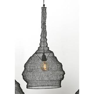 lampara de techo actual en bronce