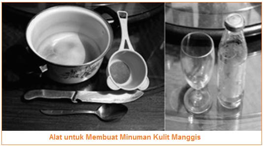 Alat untuk Membuat Minuman Kulit Manggis