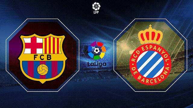برشلونة يستضيف إسبانيول في ديربي كتالوني الأربعاء 8 7 / 2020 لحساب الجولة 35 من مسابقة الدوري الإسباني