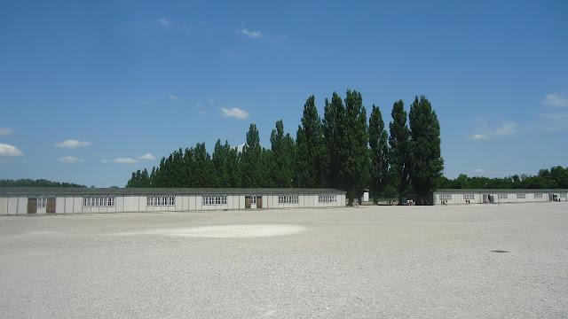 Campo de Concentração Dachau - barracões