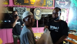 Lintas Komunitas di Tebo Gelar Baksos Untuk Bantu Penanggulangan Corona