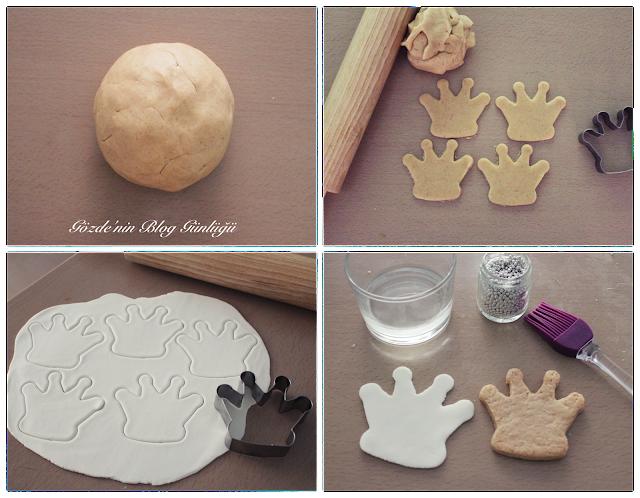 Şeker hamuruyla süslenecek kurabiye hamuru nasıl yapılır
