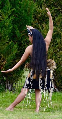 Cheveux tahiti polynésienne