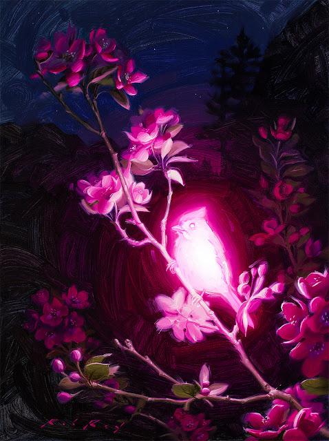 Bioluminescence : Altruism by Rob Rey - robreyart.com