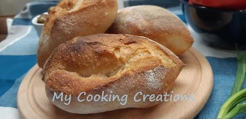 Питки Чириоли - традиционен римски хляб
