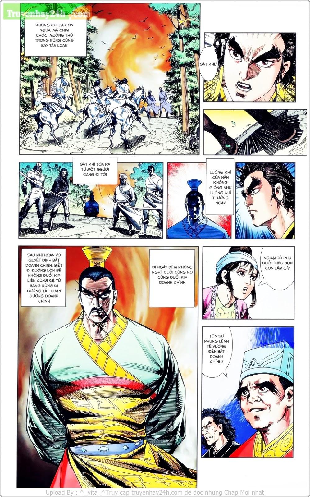 Tần Vương Doanh Chính chapter 23 trang 15
