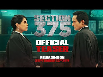 Section 375 official Trailer Akshaye Khanna, Richa Chadha