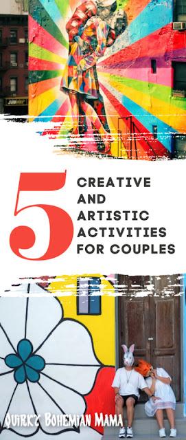 Creative date night ideas. Ideas for date night at home. Date night ideas. Date night painting. Activities for couples. Fun activities for couples.  creative date night ideas for married couples.