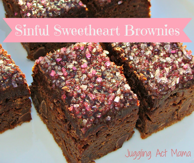 Rich chocolate Sweetheart Brownies are the perfect semi-homemade treat for your sweetheart!