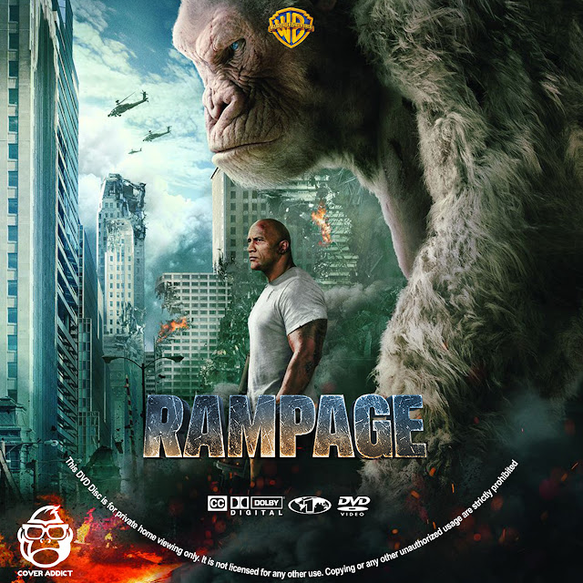 Rampage DVD Label | Cover Addict - Free DVD, Bluray Covers ...
